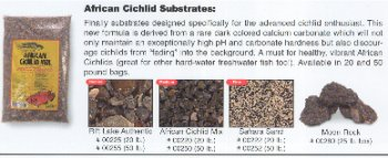 Caribsea African Cichlid Mix Sand, 50-Pound, Sahara Sand by CaribSea Aquatics