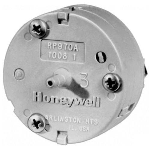 Pneumatic Relay - Honeywell, Inc. RP970A1008 RP970 Pneumatic Capacity Relay