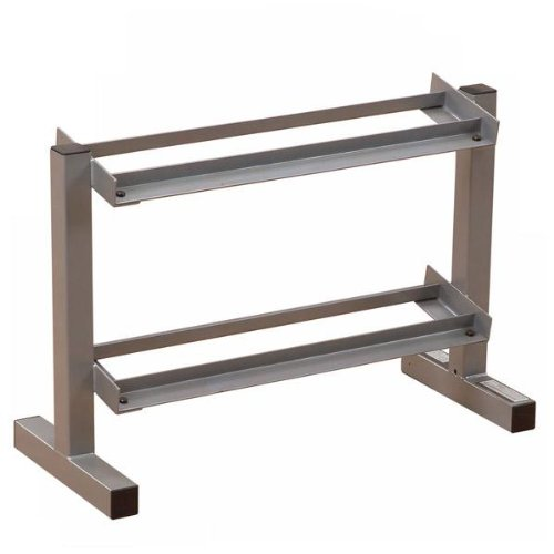 Body-Solid 32'' Wide 2-Tier Dumbbell Rack