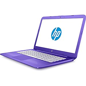 "2017 HP Stream 14"" Flagship Laptop Computer, Intel Celeron N3060 up to 2.48GHz, 4GB RAM, 32GB SSD, Wifi, Bluetooth, Webcam, USB 3.0, Windows 10 Home, Purple (Certified Refurbished)"