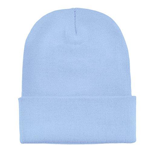 suave abrigo clásico de de DonDon invierno gorro Celeste moderno gorro diseño y Azul xv6g6aqw