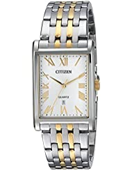 Citizen Mens Quartz Stainless Steel Casual Watch, Color:Two Tone (Model: BH3004-59A)