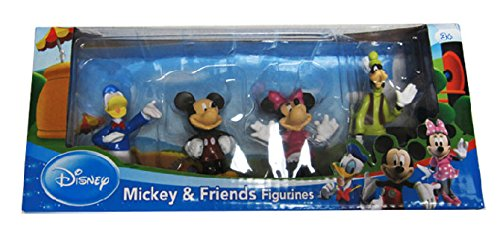 [Disney's Mickey Mouse Figurine Toys Set - 4 Pack] (Daisy Duck Costumes For Toddlers)