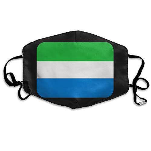 - SDQQ6 Sierra-Leone Mouth Mask Unisex Printed Fashion Face Mask Anti-dust Masks