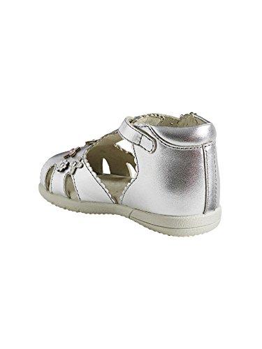 Vertbaudet Lauflernsandalen für Mädchen Silber