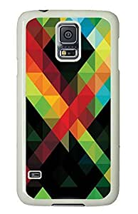 Cheap price Samsung S5 cover Stripe Pattern Awesome PC White Custom Samsung Galaxy S5 Case Cover