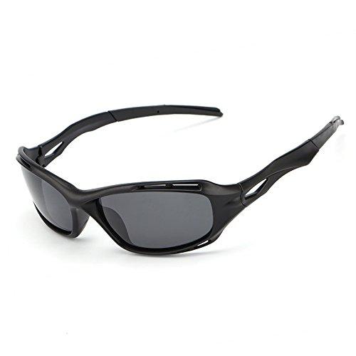 la Tonos Sol polarizada Gafas Hombres Que JCH de conducen Gafas Aluminio black magnesio Hombre Accesorios Matte del para Vendimia de del la Lente Gafas Sol de dqEwwxz0g