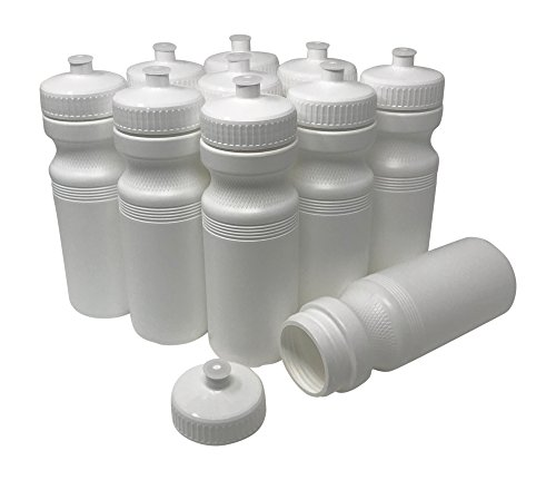Made i BPA Free Blank 20 oz Sports and Fitness Water Bottles PET Plastic