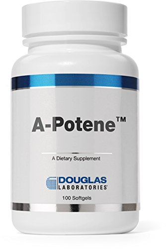 Douglas Laboratories - A-Potene - Beta-Carotene Supplement for Antioxidants and Immune Support* - 100 Capsules