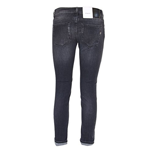 Cotone Donna DP238DS168DR19N999 Jeans DONDUP Nero tp0f0