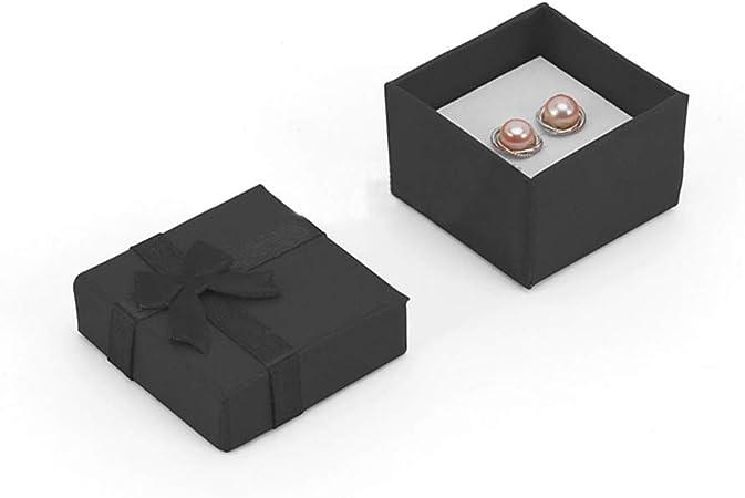 CHZIMade - Caja de regalo para joyas, 24 unidades, caja de regalo para collares, pendientes, pulseras, colores variados 3: Amazon.es: Hogar