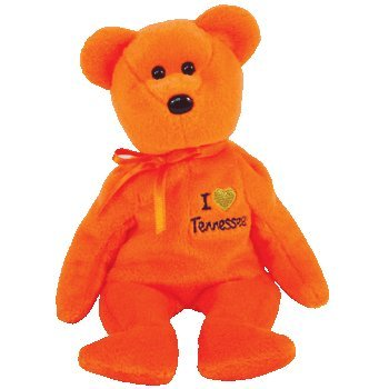 TY Beanie Baby - TENNESSEE the Bear (I L - Tennessee State Animal Shopping Results