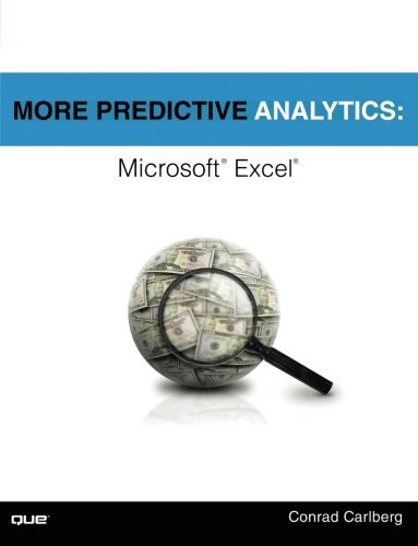 More Predictive Analytics: Microsoft Excel