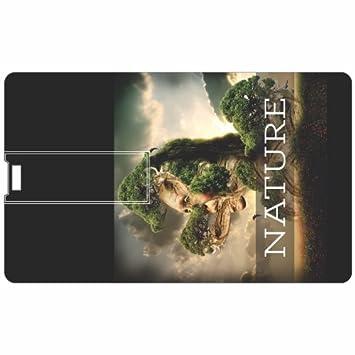 Printland Nature Love PC80923 Credit Card Shape 8 GB Pen Drive External Devices   Data Storage