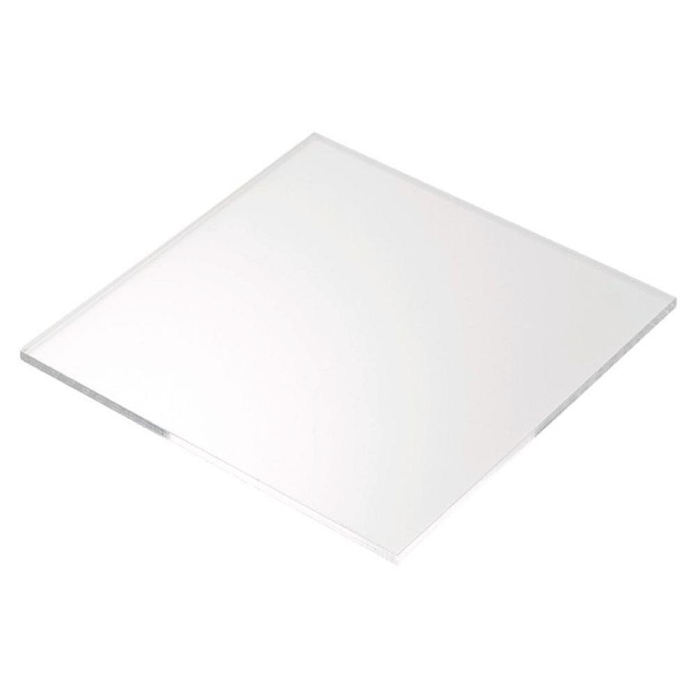 Plexiglas 24 in. x 48 in. x 0.250 in. Clear Acrylic Sheet (4 per Pack)