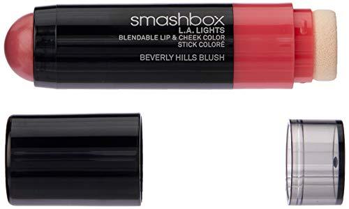 Cheek Blush Color - Smashbox Smashbox L.a. Lights Blendable Lip and Cheek Color Lipstick, Beverly Hills Blush, 0.17 Fluid Ounce