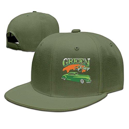 - WYF Men&women Envy Hot Rod Funny Golf ForestGreen Hats Adjustable Snapback