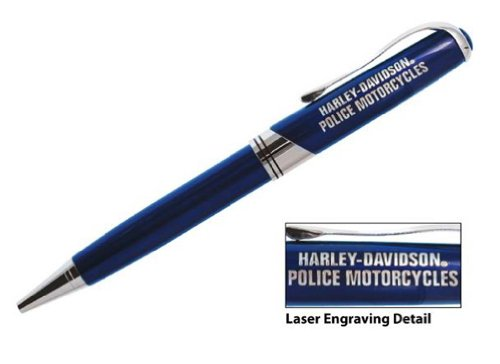 Harley-Davidson H-D Police Executive Writing Pen, Metal, used for sale  Delivered anywhere in USA