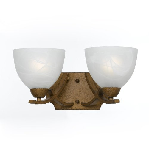 (Triarch 33280/2-AG 2 Light Value Bathroom Light)