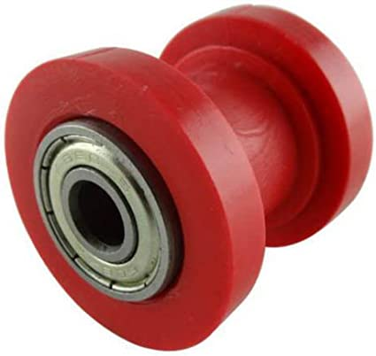 2x 10mm Chain Roller Slider Tensioner Guide Pulley Dirt Pit Bike Motorcycle Kit