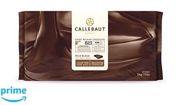 Callebaut 33,6% Bloque de Chocolate con Leche (pack) 5kg: Amazon.es: Alimentación y bebidas