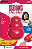 KONG Classic Dog Toy with Your Choice of Dog Treat (Combo Bundle).