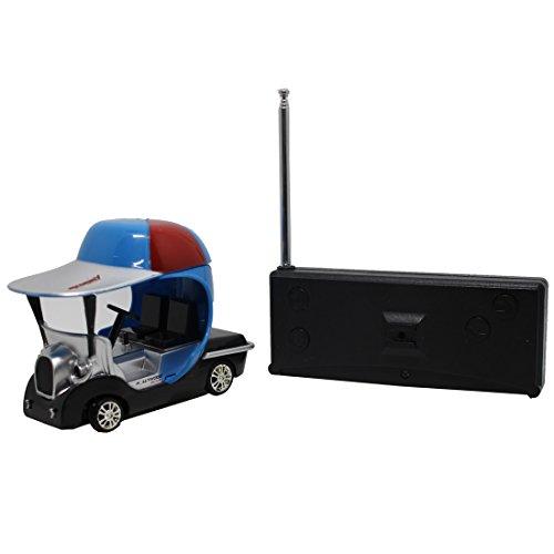 Tplay Mini Remote Control Golf Car RC Racing Cart Toy, Blue