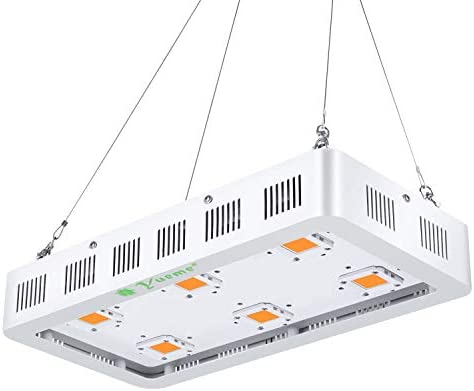 1800W LED Grow Light Full Spectrum with On Off Switch Grow Lamp for Greenhouse and Indoor Plant Flowering Growing