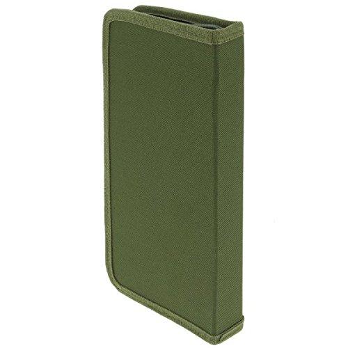 gr/ün 940 29/x 14/x 4/cm NGT Unisex FLA steif Angeln Rig Wallet mit Pins