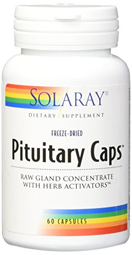 Solaray Pituitary Caps Supplement, 196 mg, 60 -