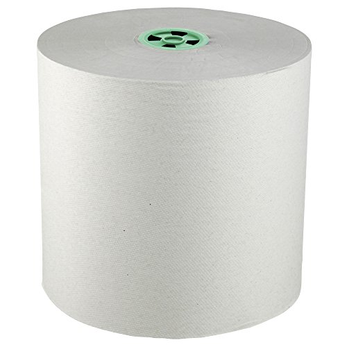 Scott Pro Hard Roll Paper Towels (25700) with Absorbency Pockets, for MOD Dispenser (Green-Colored Core only), 1150' / Roll, 6 White Rolls / Case, 6,900 feet