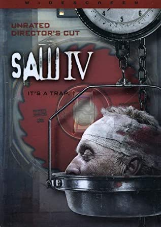Amazon Com Saw Iv Unrated Widescreen Edition Tobin Bell