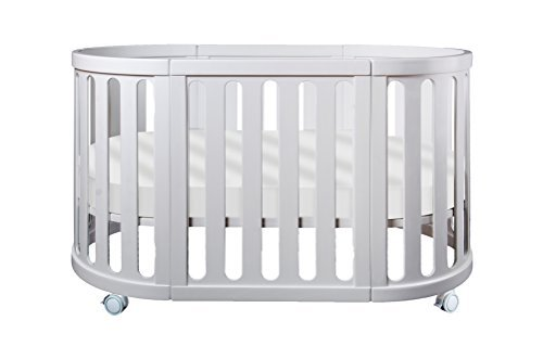 Cocoon Furniture Nest 4-in-1 Crib and Bassinet System in White For Sale
