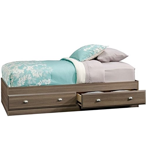 Ash Bed - Pemberly Row Twin Mates Bed in Diamond Ash