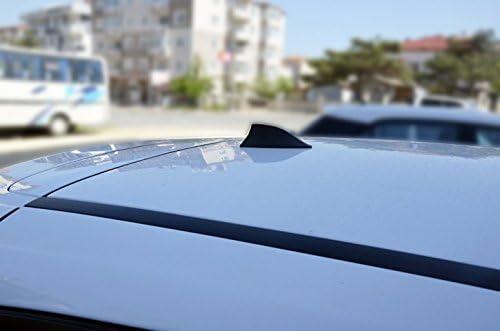 Seat Ibiza funcional aleta de tibur/ón antena negro a partir de 2010/ Compatible para AM//FM Radio