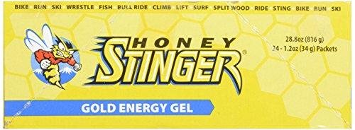 Honey Stinger Energy Gel, Gold, 1.2 Ounce (Pack of 24)