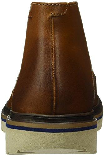 Uomo Frelan Clarks Stivaletti Leather Hike Cognac Marrone 4qOtdOnp