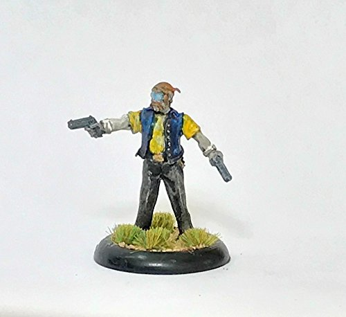 Painted Reaper lead zombie hunter miniature (mini) sci fi Dungeons and Dragons D&D ()