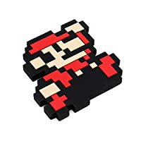 Bumkins Nintendo Silicone Teether, 8-Bit Super Mario
