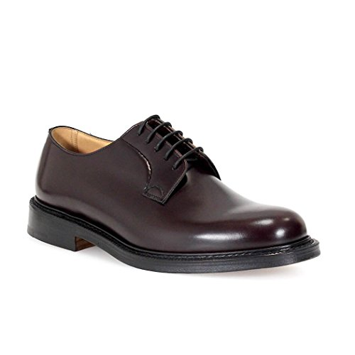 CHURCH'S DERBY SHANNON BURGUNDY LACE UP