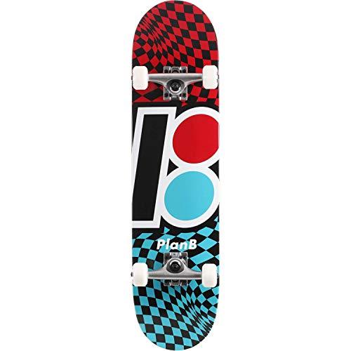 Plan B Skateboards Checker Complete Skateboard - 7.85