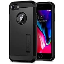 Spigen Tough Armor [2nd Generation] iPhone 8 Case/iPhone 7 Case with Kickstand and Heavy Duty Protection and Air Cushion Technology for Apple iPhone 8 (2017)/iPhone 7 (2016) - Gunmetal