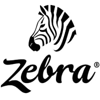 Zebra Technologies 10010051 Z-Select 4000D Paper Label, Direct Thermal, Perforated, 2.25 x 1.25, 1 Core, 5 OD, Center 2 Vertical Slit Creating 1.125 x 1.25, 1910 Labels per Roll (Pack of 6)