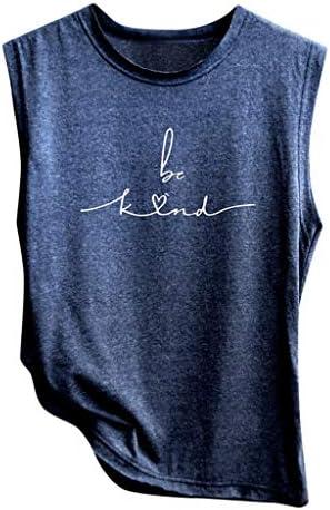SHOBBW Women`s Summer Fashion Casual Sleeveless Solid Shirt Loose Tank Top Soft Comfortable Top