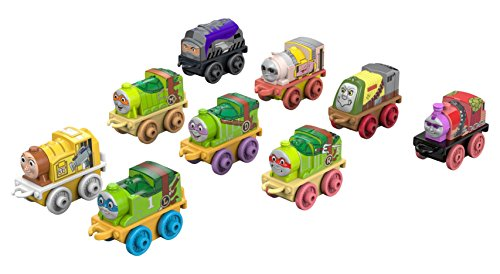 Fisher-Price Thomas & Friends MINIS, Teenage Mutant Ninja Turtles (9-Pack)