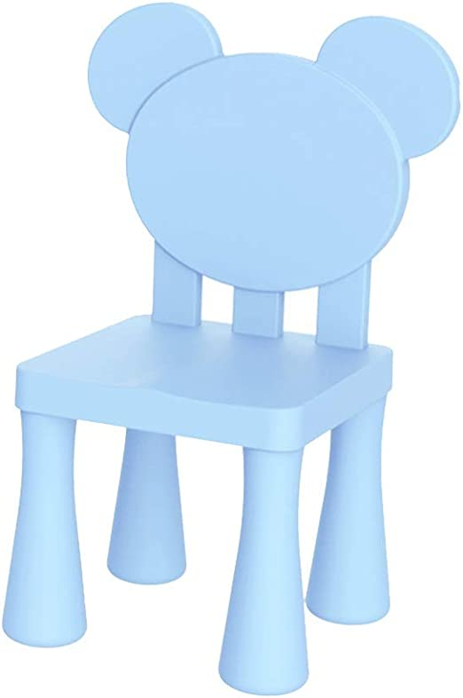 ZHAOHUI Jardín de Infancia Niño El plastico Desmontable Juego de Mesa y Silla Aprender Escribir Casa, 2 Estilos (Color : Blue-B): Amazon.es: Hogar