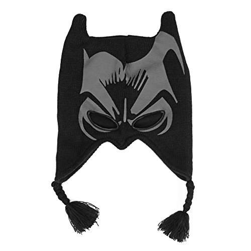 Animewild DC Comics Batman The Dark Knight Face Print Laplander Beanie Hat