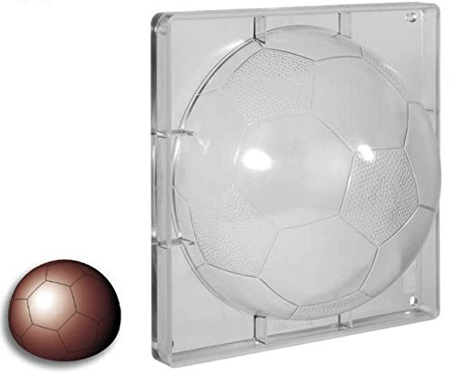 lepetitmitron Molde de Policarbonato rígida de balón de fútbol ...