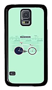You Are Runner PC Black Hard Case Cover Skin For Samsung Galaxy S5 I9600