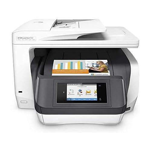 chollos oferta descuentos barato HP OfficeJet Pro 8730 AiO Impresora multifunción Inyección de tinta térmica 200 x 200 DPI 600 x 600 DPI 1200 x 1200 DPI A4 216 x 356 mm gris